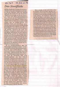 Süddeutsche Zeitung Streiflicht Orks 1